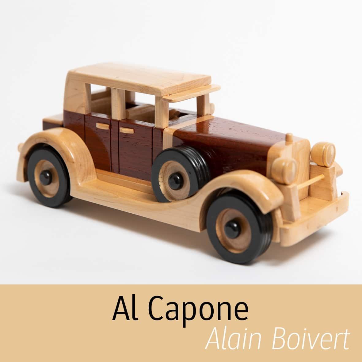 Auto en bois Alain Boisvert
