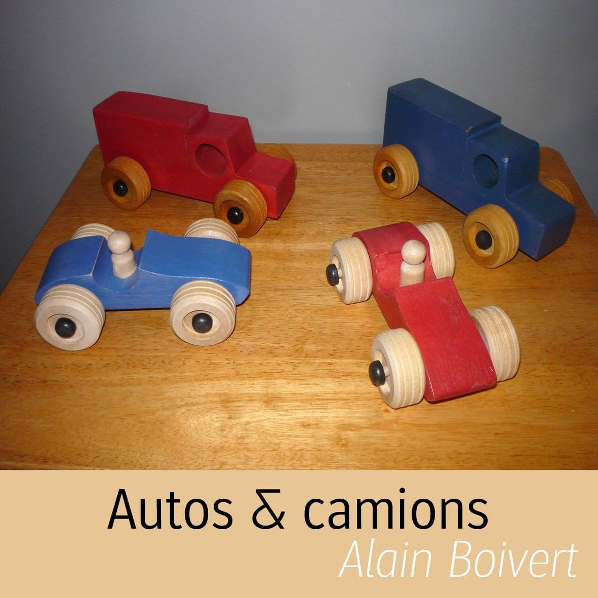 autos en bois Alain Boisvert