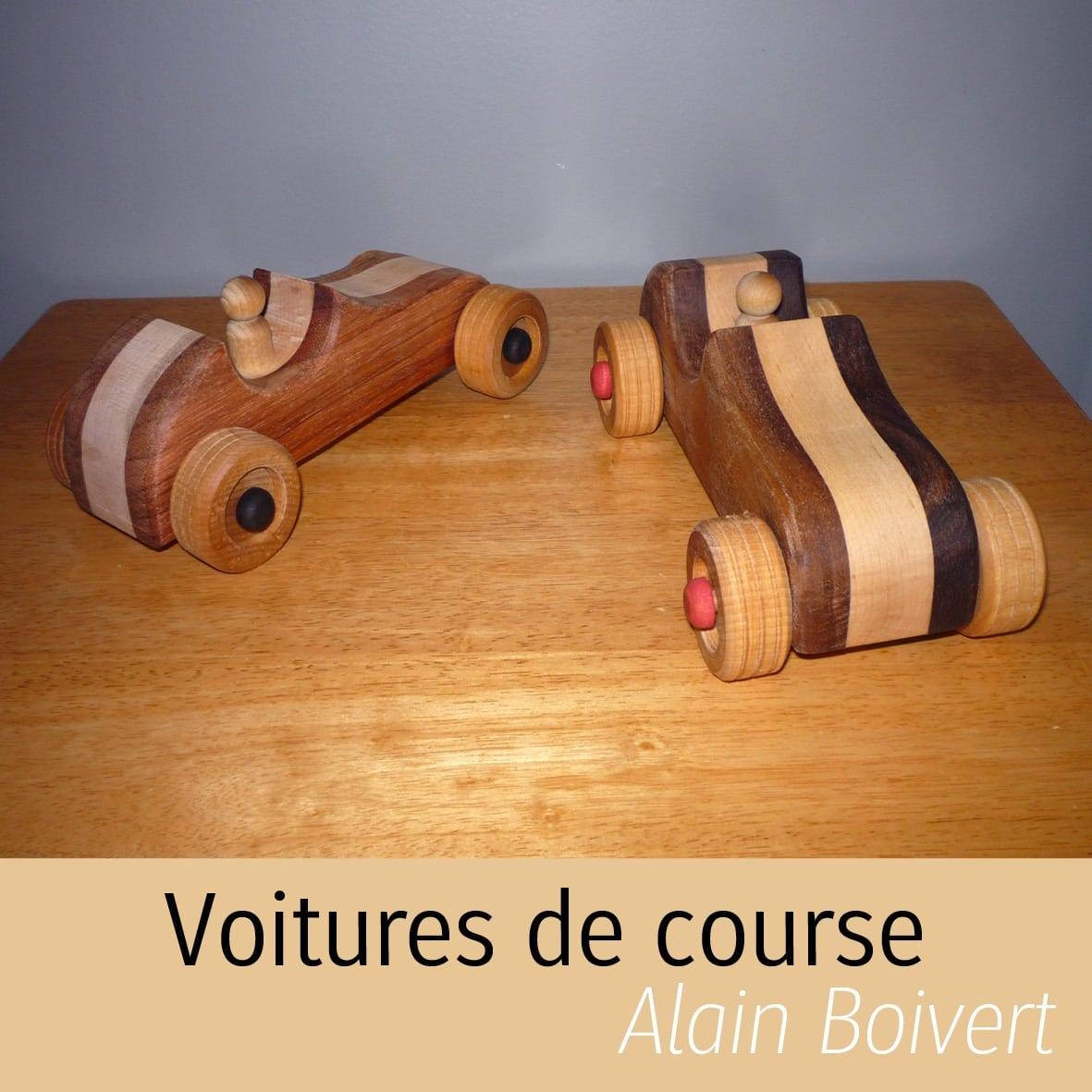 Voitures en bois Alain Boisvert