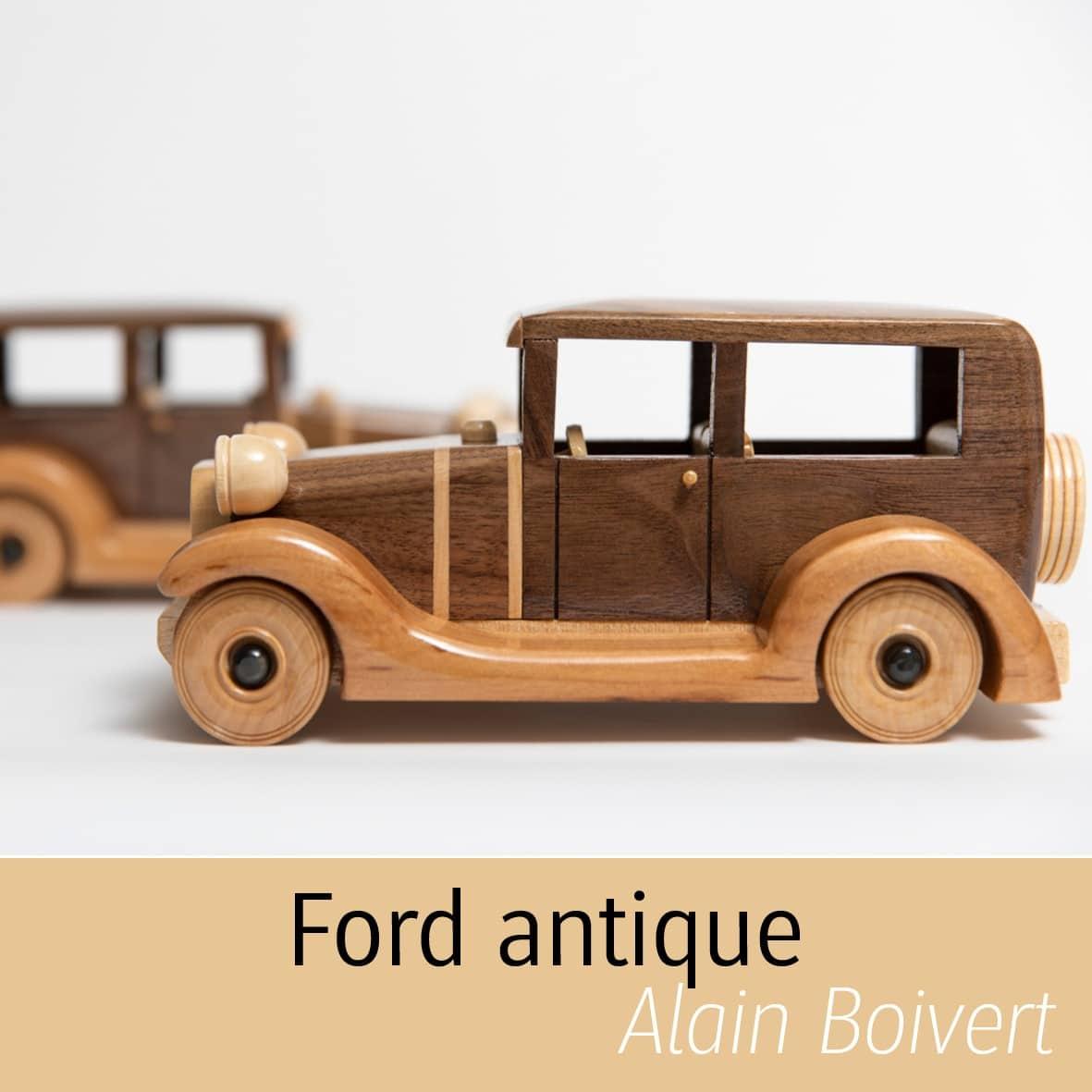 Ford antique Alain Boisvert