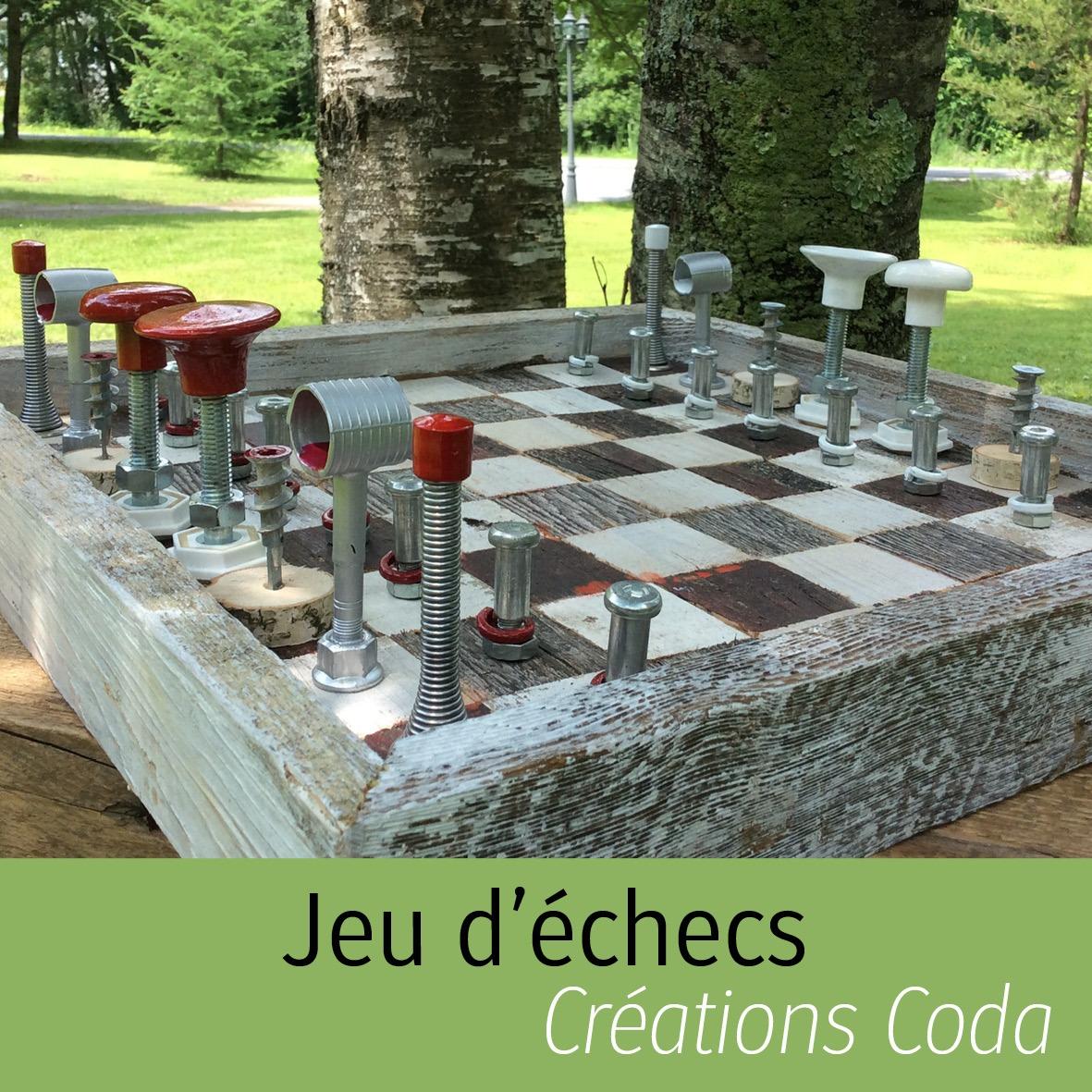 Jeu d'échecs Créations Coda