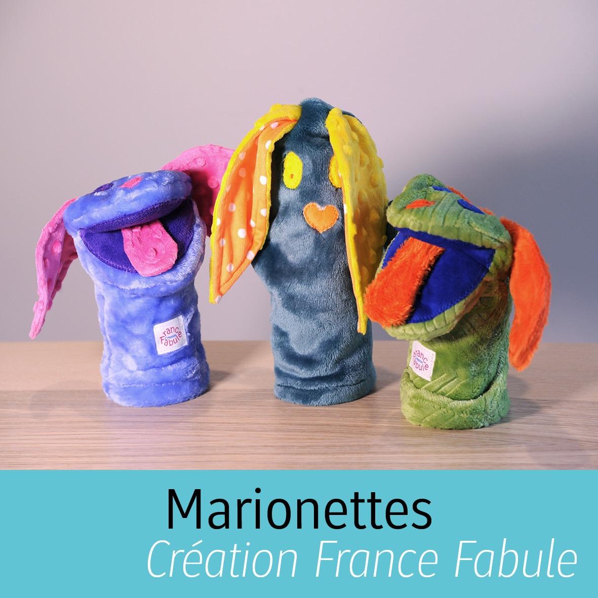 Marionnettes Créations France Fabule de Manu Factum