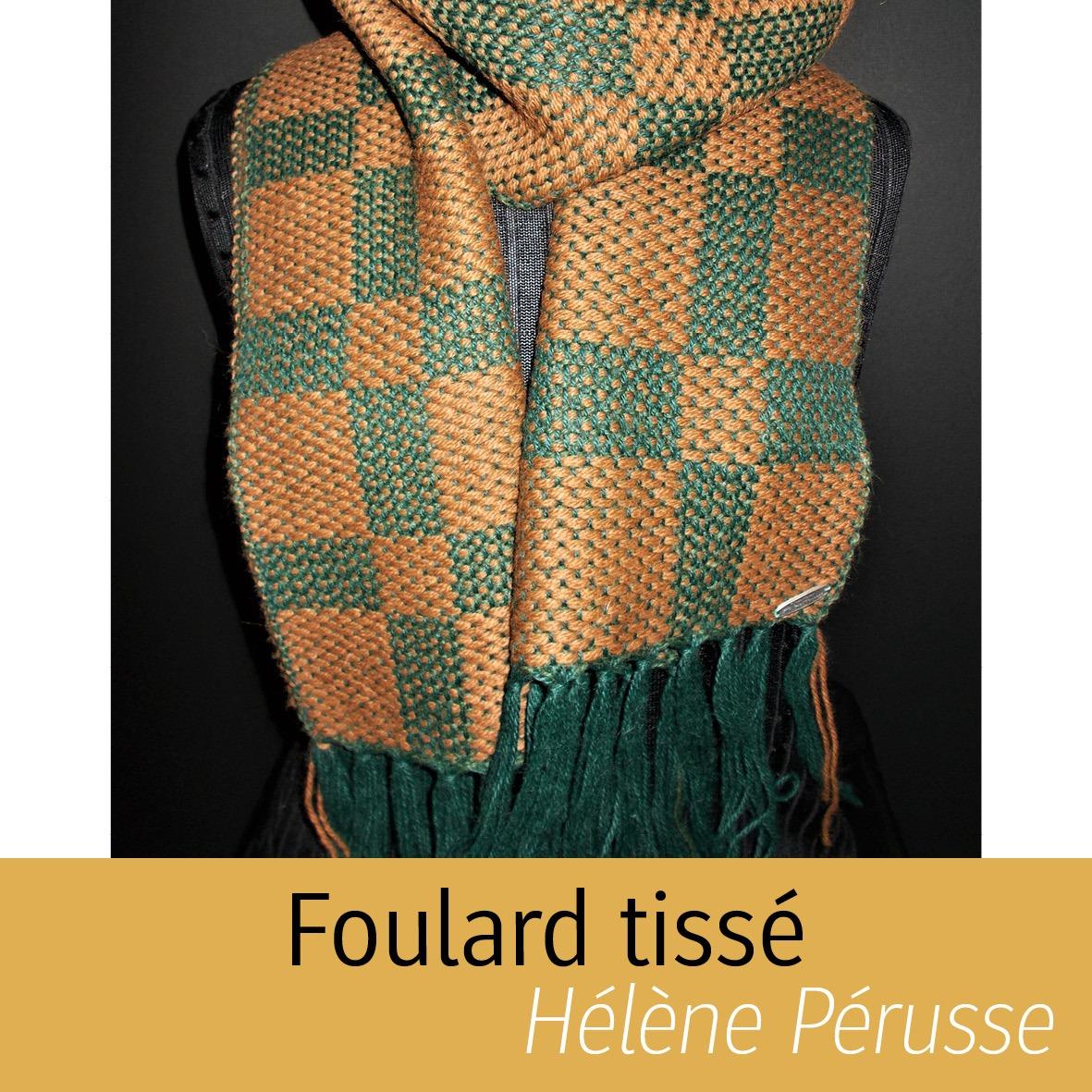Foulard Tissé Hélène Pérusse