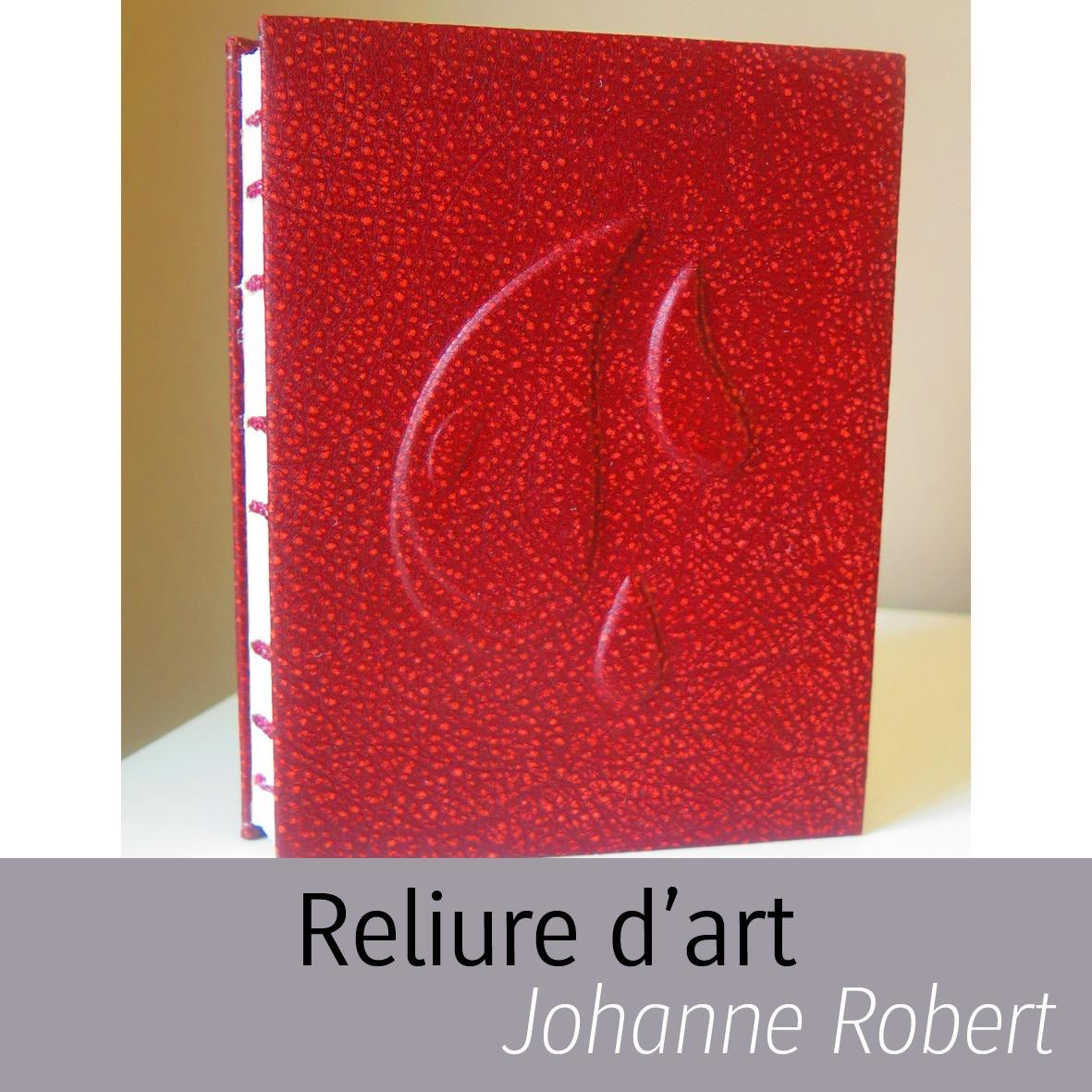 Reliure d'art Johanne Robert