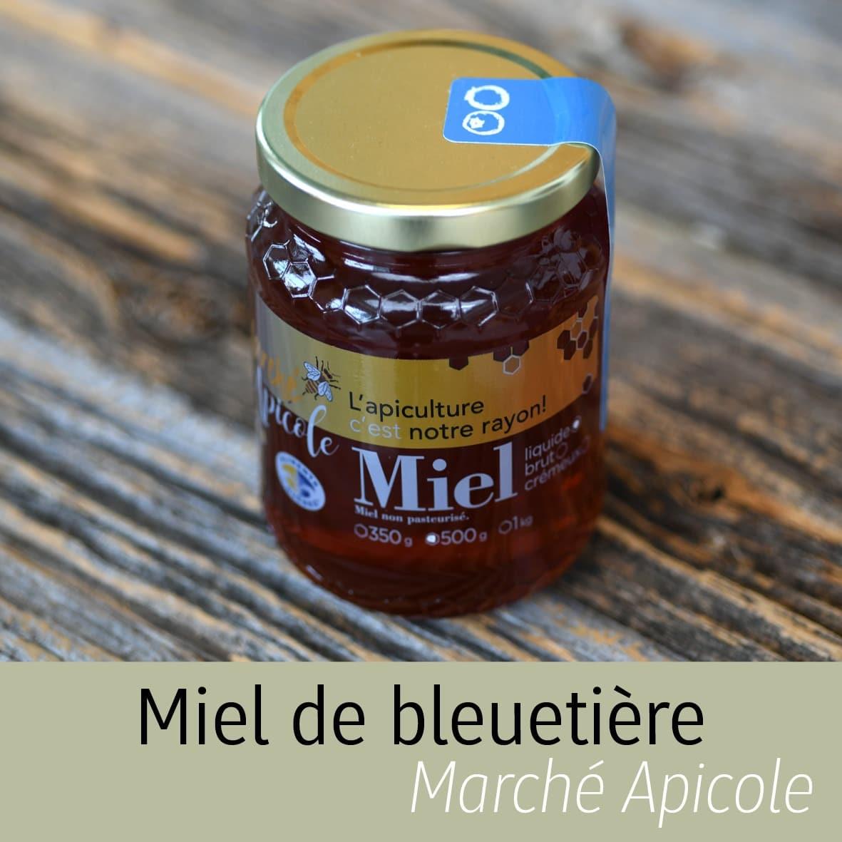 Miel de bleuetière Marché apicole