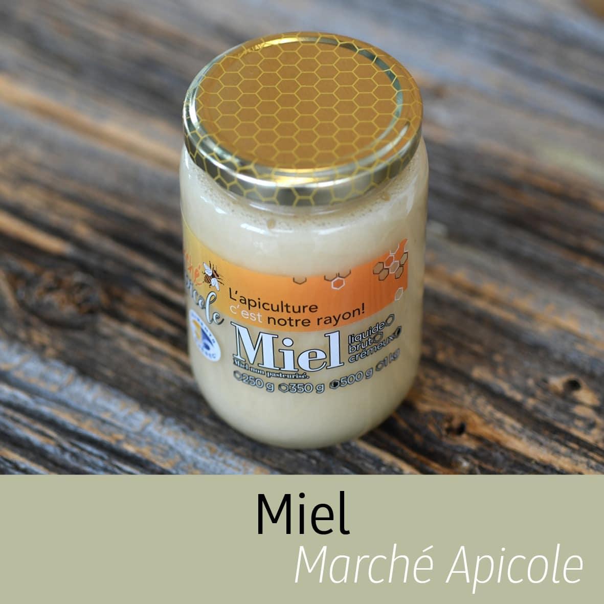 Miel Marché apicole