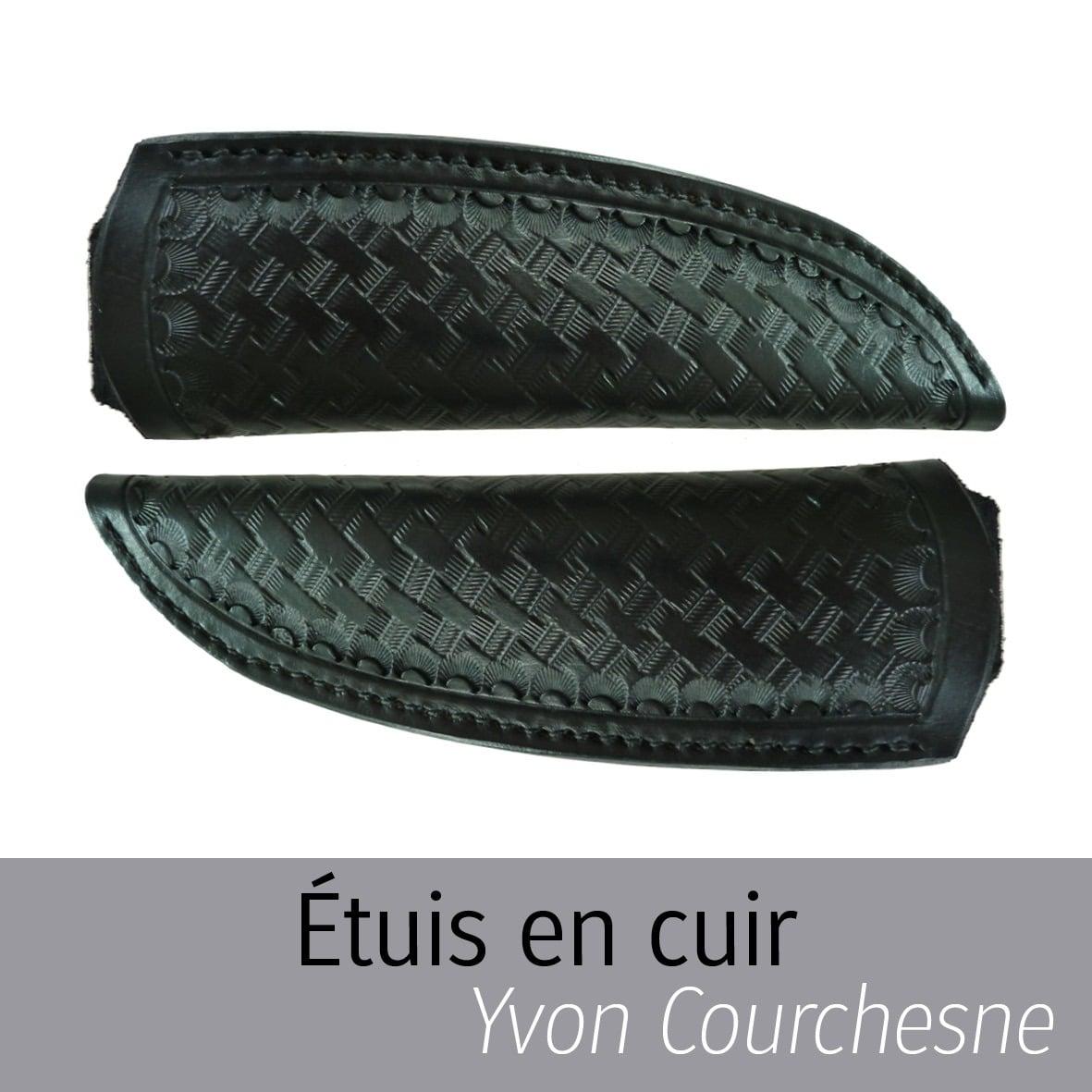 Étuis en cuir Yvon Courchesne